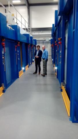 10 portes de radioprotection motorisée, Agence Energie Atomique Royaume Uni, UKAEA, DIB Radioprotection.