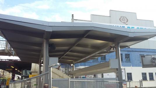 Abri Cab sur la gare de Saint Gratien