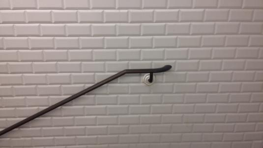 main courante Fer tendeur 10 stations métro