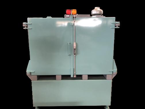 Cabine de radioprotection monobloc - 10 mm de plomb, porte double.